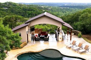 Pool Casita with a Hill Country View